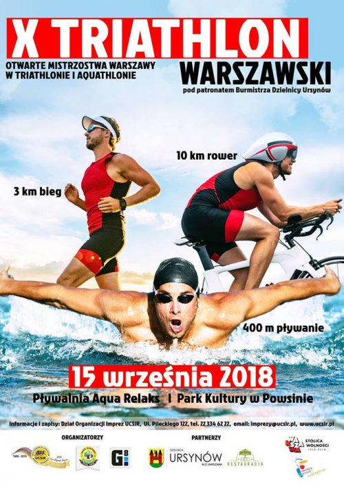 X Triathlon Warszawski