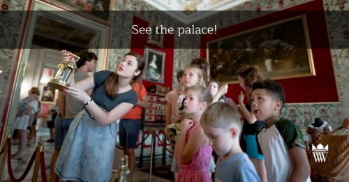Palace tours included in the ticket price
